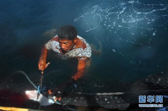 (XHDW)(8)印尼传统捕鲸村渐无鲸可捕