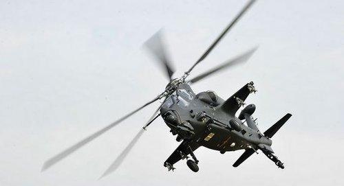 珠海航展直10武装直升机首次公开亮相