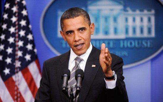 总统奥巴马回答了微博上的一个关于太空政策的问题