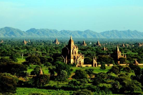 国际 2 万塔之城 缅甸蒲甘