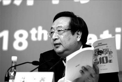 国家发改委副主任朱之鑫。本报记者张伟摄