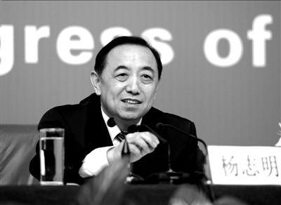 人社部副部长杨志明。