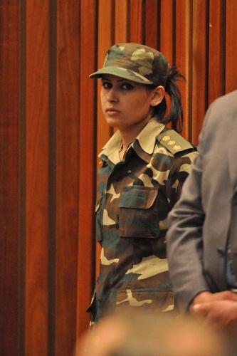 卡扎菲前女保镖遇刺 曾计划从事演艺事业图片
