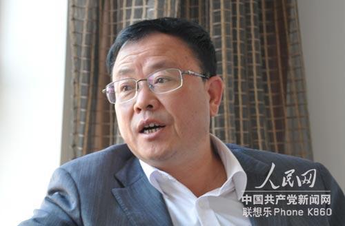 十八大代表李豫滇。人民网记者 杨伊摄