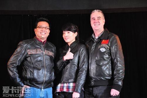 戴维森/2013年新款哈雷戴维森摩托车中国发布会获得圆满成功