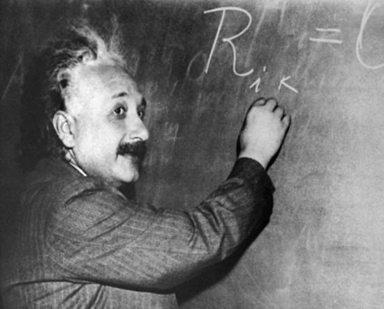 所在/研究人员认为爱因斯坦的大脑拥有独特的外形,这可能就是他拥有...