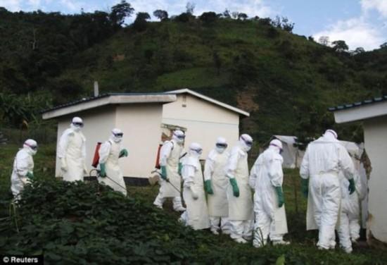 加拿大新研究发现致命病毒埃博拉可通过空气传播