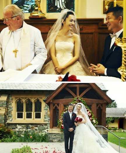 盘点在国外低调结婚的明星