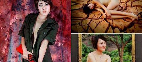 裸体模特地位最低 中国十大裸模辛酸生活 组图高清图片