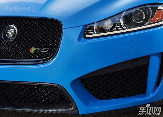 新款捷豹XFR-S预告图公布 洛杉矶车展亮相