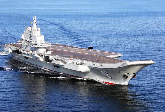 中国航母辽宁舰有多大图片 中国航母辽宁舰内部图,中国航母-中国