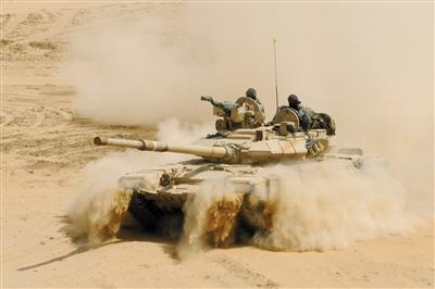 印度军演。资料图片