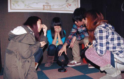 密室逃脱游戏8天200人没谁从密室逃脱泉州别墅宝珊图片