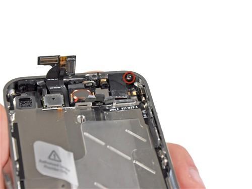 拆解了iphone4