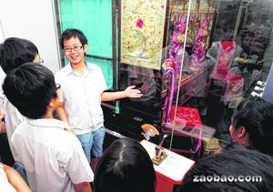 新加坡学生志愿当导游 加强华文表达能力