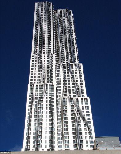 中国 摩天大楼 纽约/纽约斯普鲁斯街8号被评年度最佳摩天大楼
