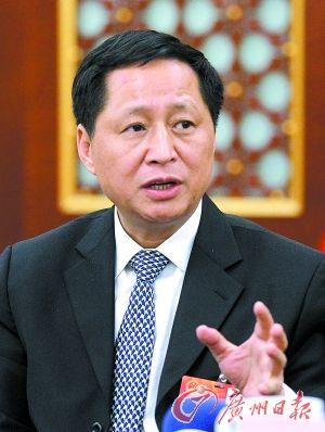 广东省教育厅厅长罗伟其。  (资料图片)记者顾展旭摄
