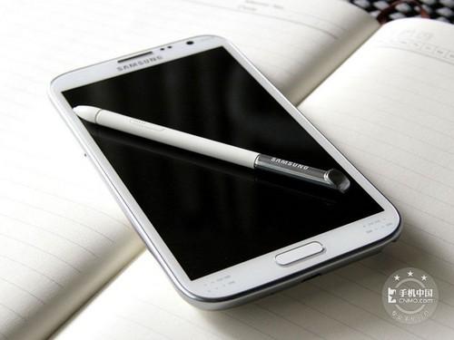 電信版三星Note II(N719)手機正面圖片