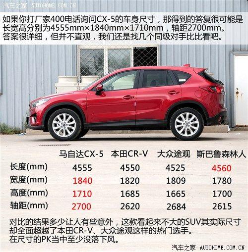 价格将下探 国产CX-5有望明年夏季上市