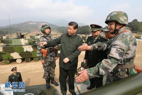 (时政)(2)习近平在广州战区考察