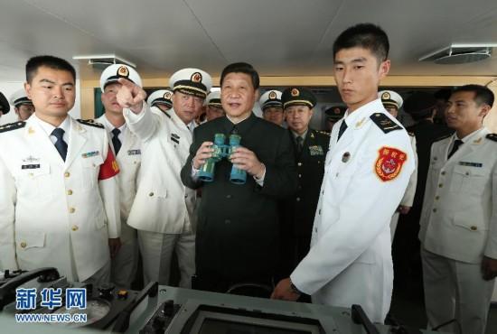 (时政)(1)习近平在广州战区考察