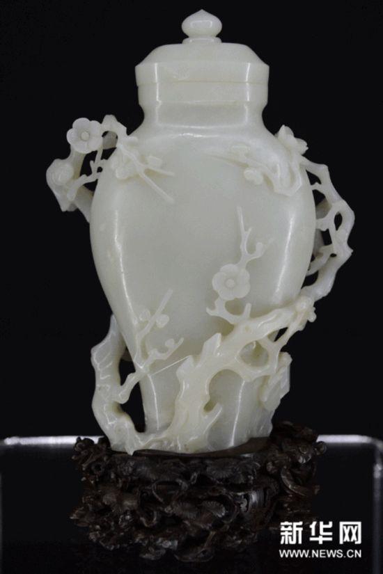 君子比德 故宫珍藏清代玉器精品展在澳门举行 图