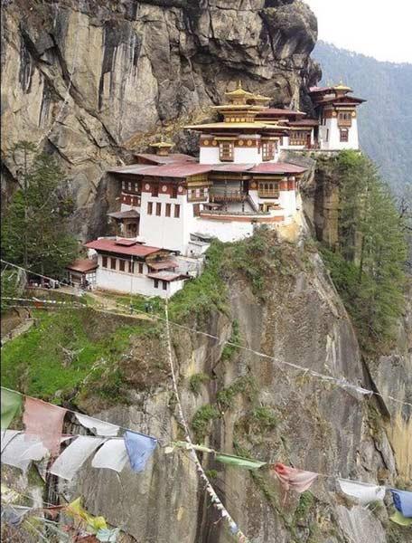 帕罗虎穴寺;帕罗,不丹