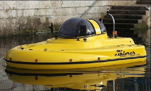 神奇水陆两用车诞生 造型奇特由永动机驱动