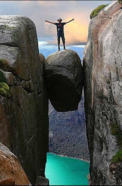 奇迹石,罗加兰,挪威