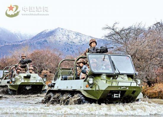 藏部队列装新型全地形车 火力机动性大幅增长图片