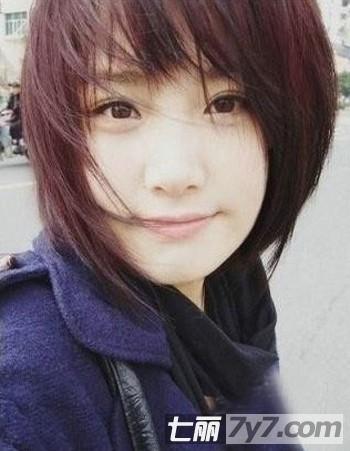 长脸适合什么发型 2013时尚短发发型图片推荐图片