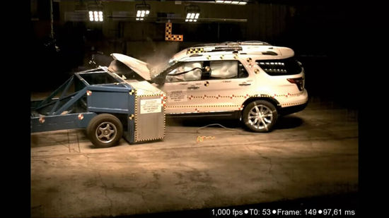 看谁最禁撞 科鲁兹 雅力士 等车撞击测试高清图片