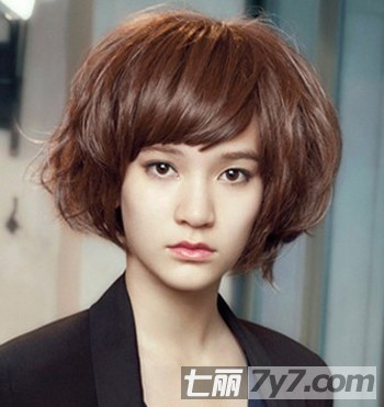 最新韩式潮流短发发型图片