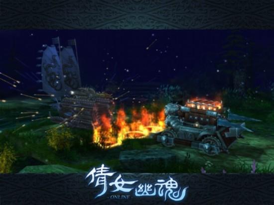 《倩女幽魂》新增战车系统,开启帮战新体验