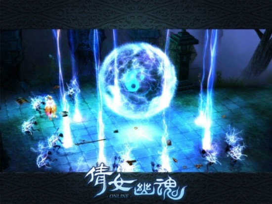 超大型技能展现《倩女幽魂》满足玩家的战斗快感