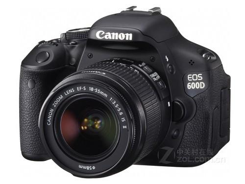 配備防抖鏡頭 佳能600D套機降至4350元
