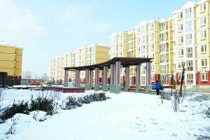 延庆第一个集中建设的保障房小区悦安居。