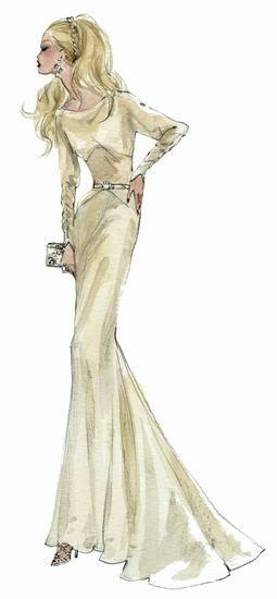 30年代: 古典婚纱