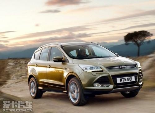 与翼虎同平台 林肯新SUV MKC即将发布