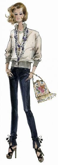20年代: 珠子装饰的晚宴包
