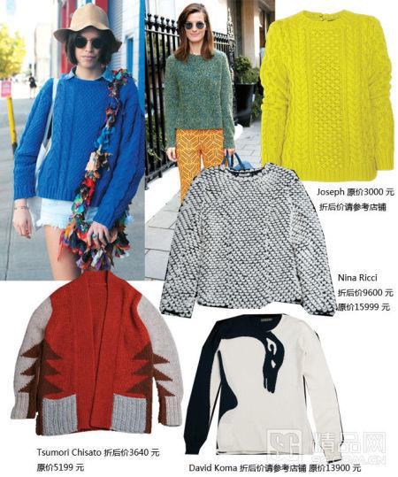 暖色系的羊絨開衫時髦好搭,利用率極高!