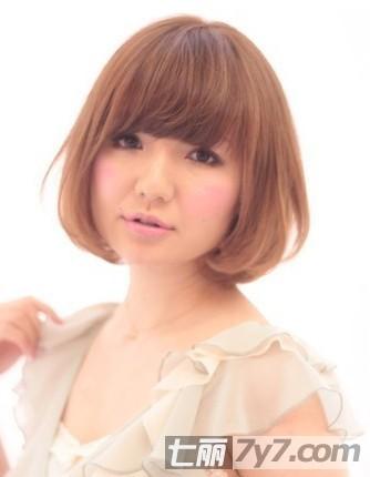 最新圆脸适合的短发发型 尽显潮流个性女生范