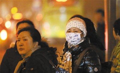 北京发布首个霾橙色预警 局地PM2.5指数超1000