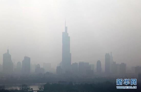 #(生态)(3)南京连续8天空气质量指数达到污染级别