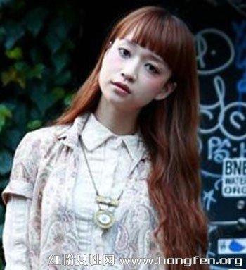 2013流行染发颜色大全 街拍日系潮流女生发型图片