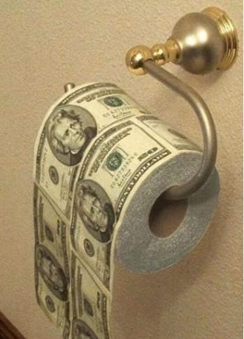 最值钱的厕纸