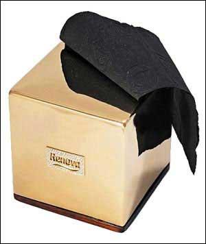 钻石黄金厕纸盒