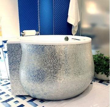 800万日元的豪华浴缸