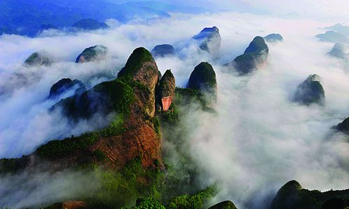 湖南省国家级风景名胜区全国第一
