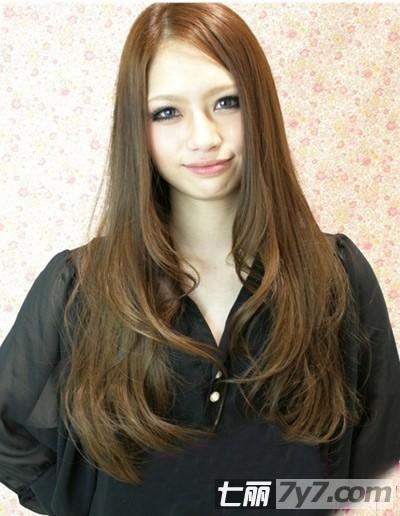 2013韩式长发烫发发型图片 8款时尚显瘦发型推荐【5】